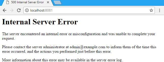500 Internal Server Error wordpress képe