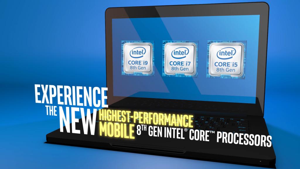 Intel 8 adik generációs processzora