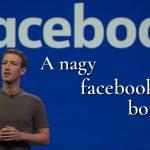 A facebook botrány