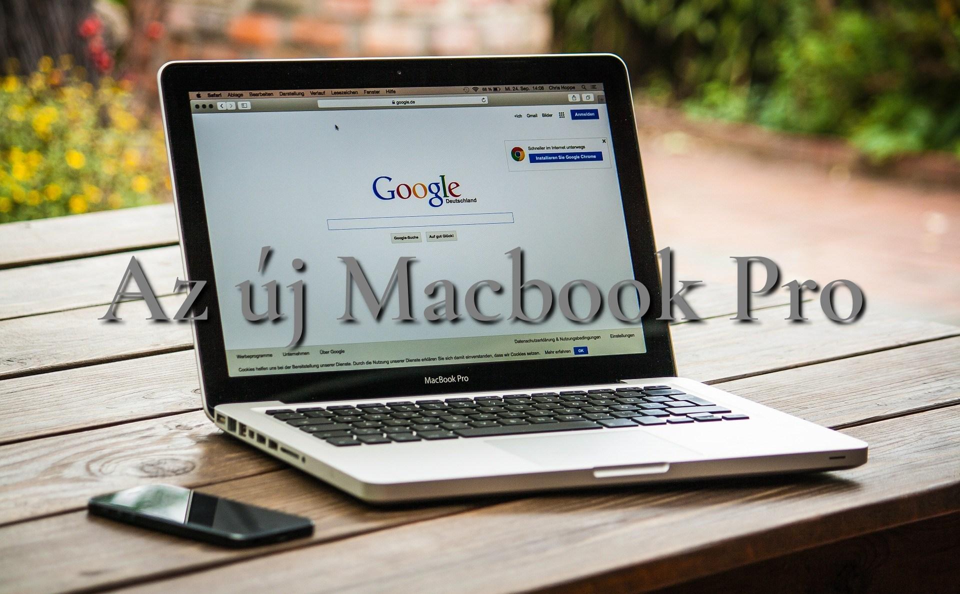 Új MacBook Pro