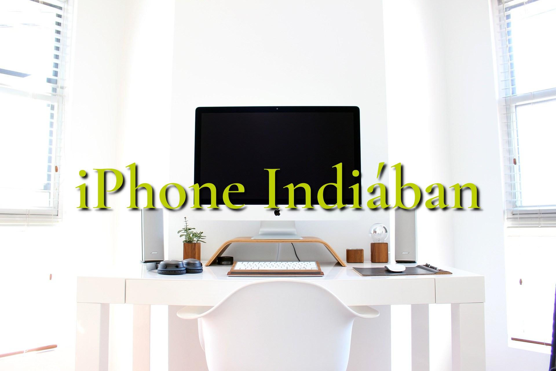 1 millió darab iphone Indiában