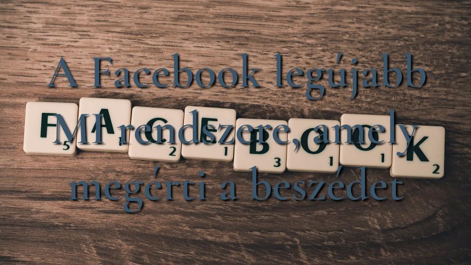 A Facebook legújabb MI rendszere