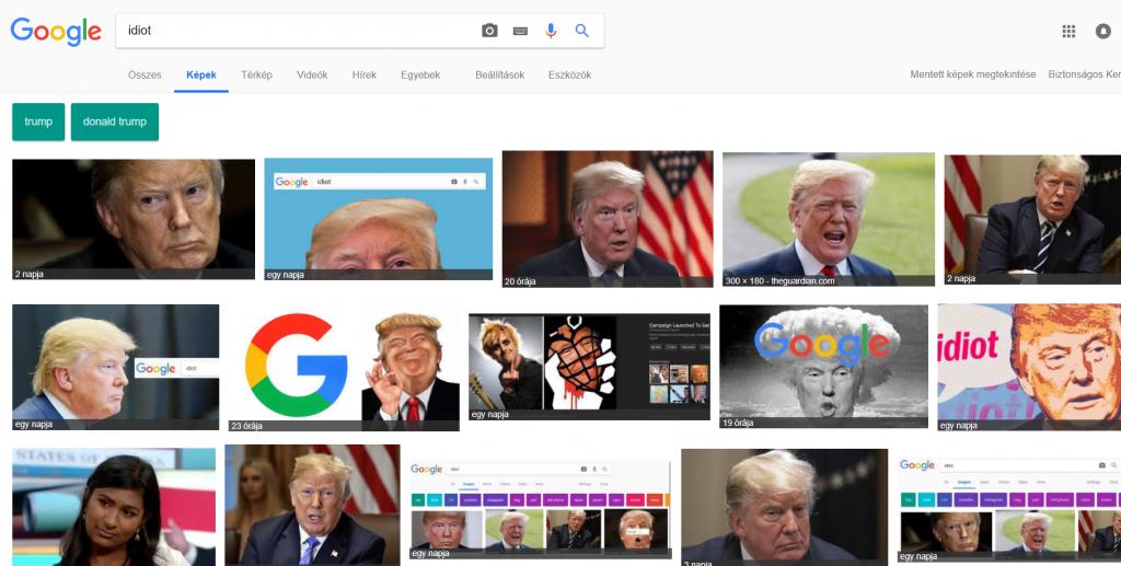 Idiot Donald Trump