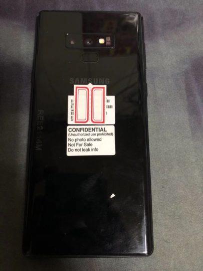 Kiszivárgott Samsung Galaxy Note 9