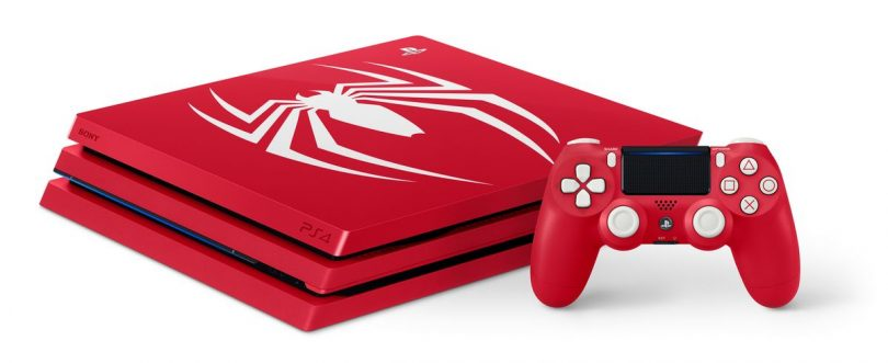 PS4 Pro Amazing Red