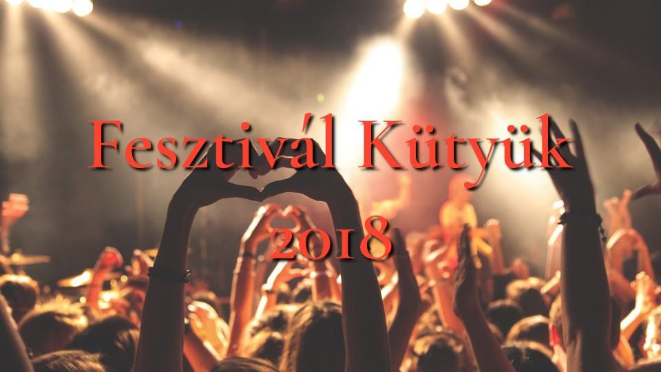 Fesztivál kütyük 2018