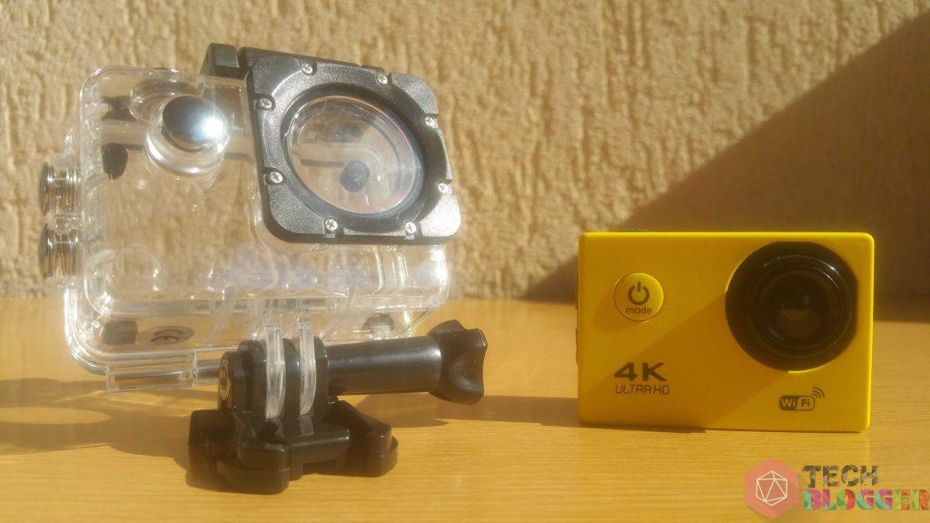 Hamis akciókamera vízálló tokkal