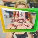 5 iPhone pénztárca tok