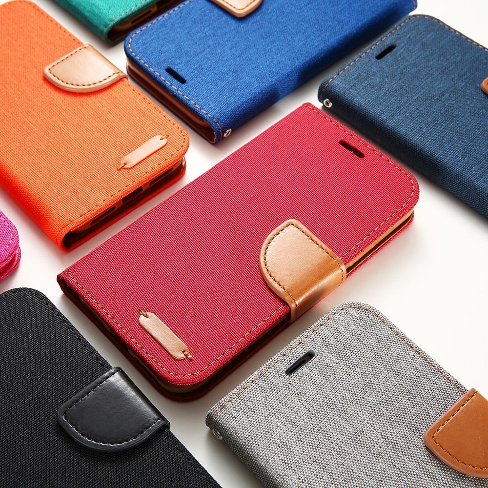 5 iPhone pénztárca tok DOEES flip elegáns