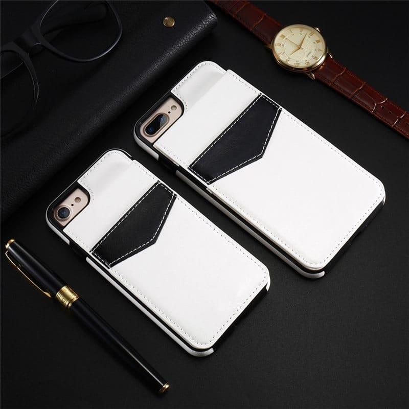 5 iPhone pénztárca tok KISSCASE felfelé nyíló elegáns