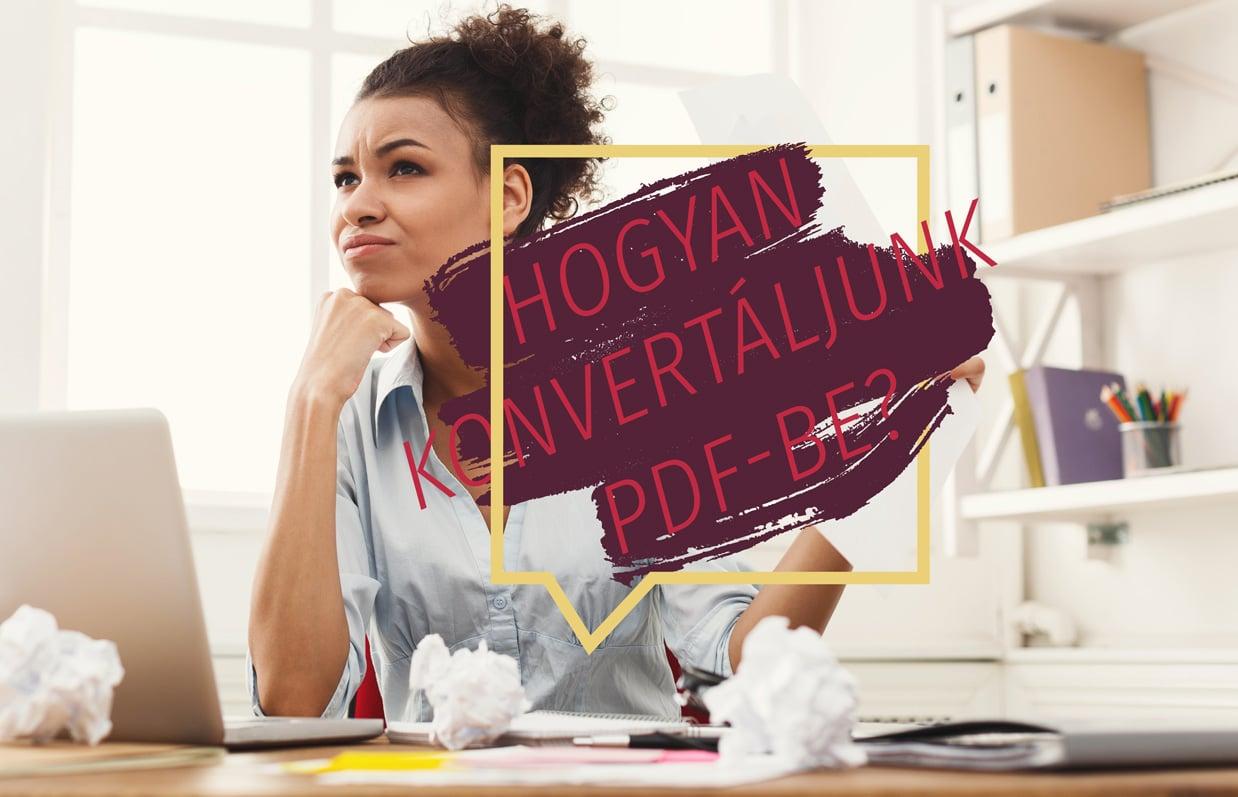PDF Konvertálás