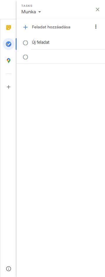 Google Tasks a Google Calendarban
