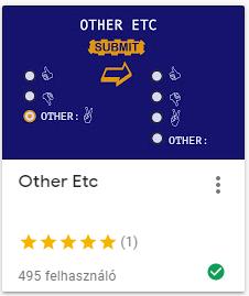 Other Etc válasz hozzáadása