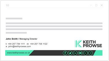 a betűtípus fontos egy email aláírásnál