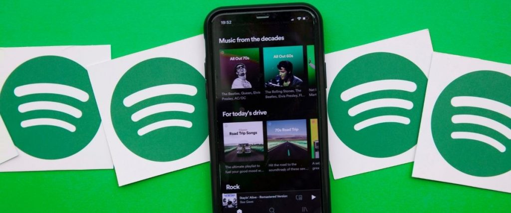 Spotify - Zenei streaming szolgáltató - platform