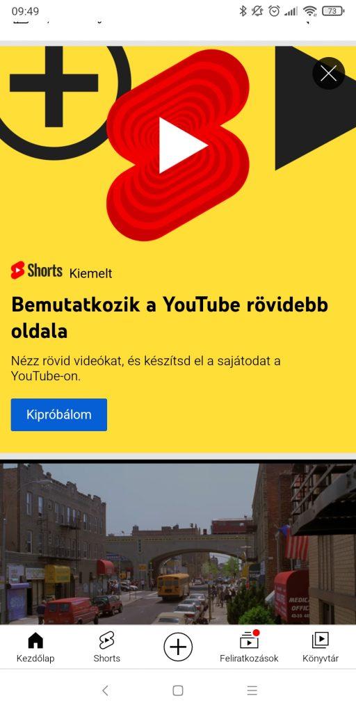 streamelés youtube-ra