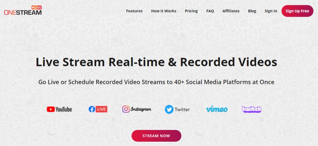 OneStream közvetítői platform