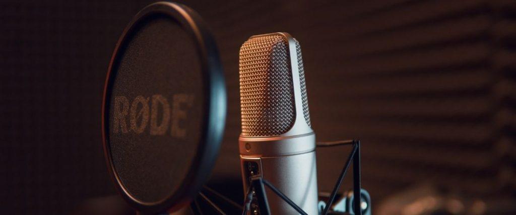 Kondenzátoros stúdió mikrofon