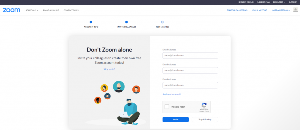 Hívjunk meg másokat is a Zoom használatához
